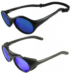 Sports sunglasses with back band
