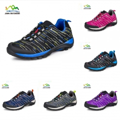 Color black 1 lovers' hiking shoes for male