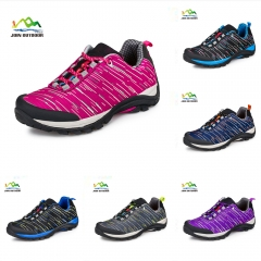 Color pink lovers' hiking shoes for female